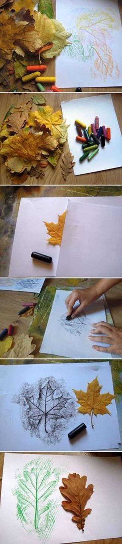 7 DIY Leaf Drawings Pictures49dc8faf