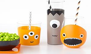 How to make the Halloween Monster Glasses