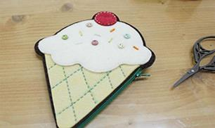 Make a Felt Ice Cream Purse