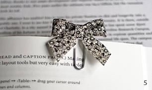 Diy Bow Paperclip Bookmarks