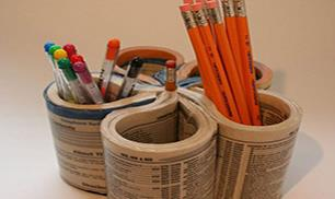 Creative DIY Pencil Holder Idea