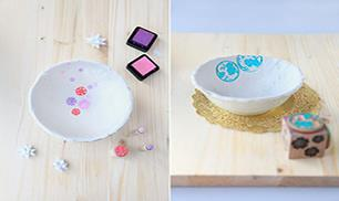 DIY Sweet Bowl Tutorial