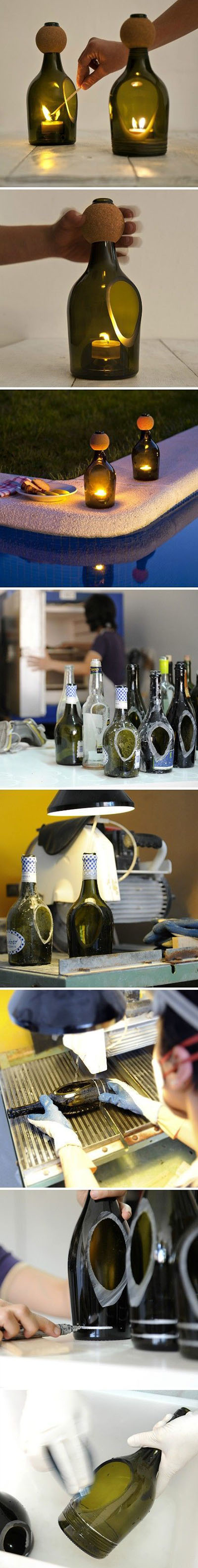 8  DIY Wine Bottles Crafts And Ideas063e