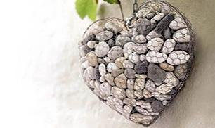 How to Create a Unique Stone Heart