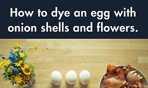 DIY Beautifully Decorated Eggs