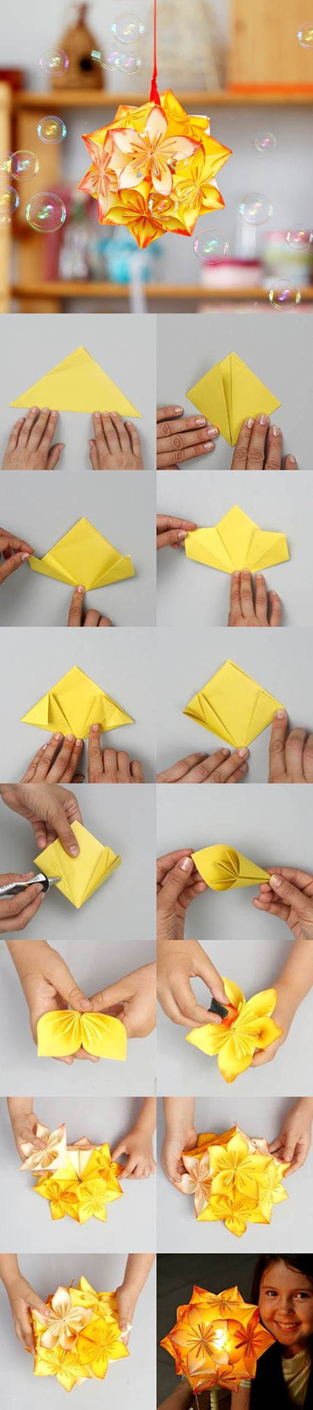 1 DIY Origami Kusudama Decoration 162