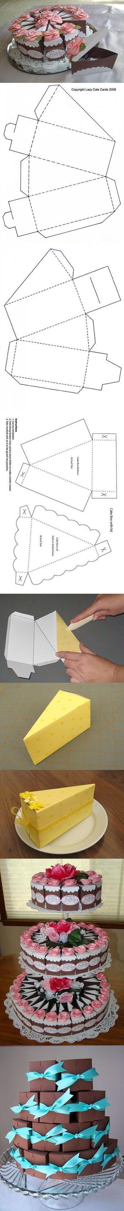 10 DIY Cake Gift Box 840698