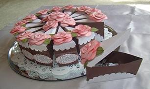 DIY Cake Gift Box