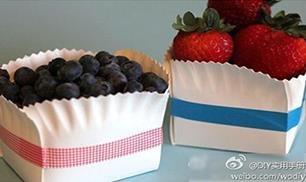 Make a gift box with a paper plate