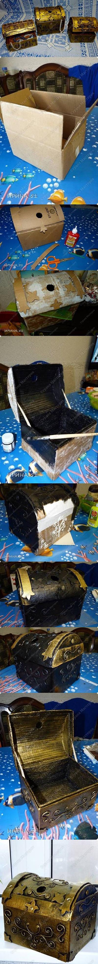 12 SUCH A CUTE Cardboard Jewelry Treasure Box 1a9e1738