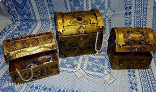 DIY CUTE Cardboard Jewelry Treasure Box