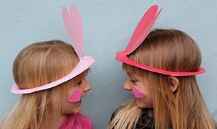 Diy cute paper plate hats