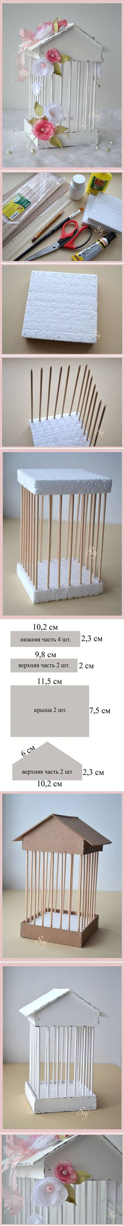 16 DIY Decorative bird Cage 3d2b9