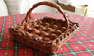 DIY Easter Egg Basket out of Woven Paper