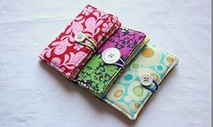 DIY Sew Business Card Holder