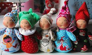 Diy little dolls