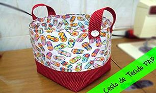 DIY Easy Fabric Basket