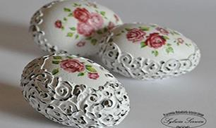 Egg decorating art