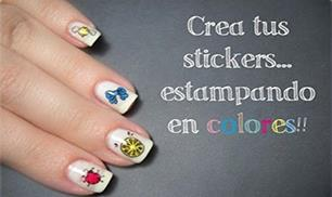 Stamping konad in colors