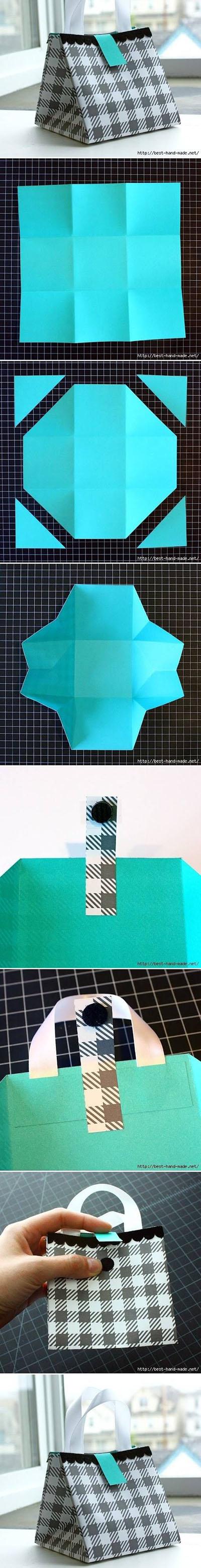 5 DIY Nice Paper Gift Bag 028cb7