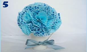 DIY cupcake liner balls