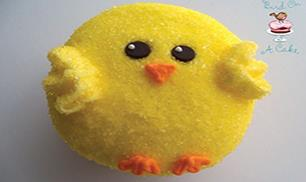 DIY Easter Chick Cupcakes