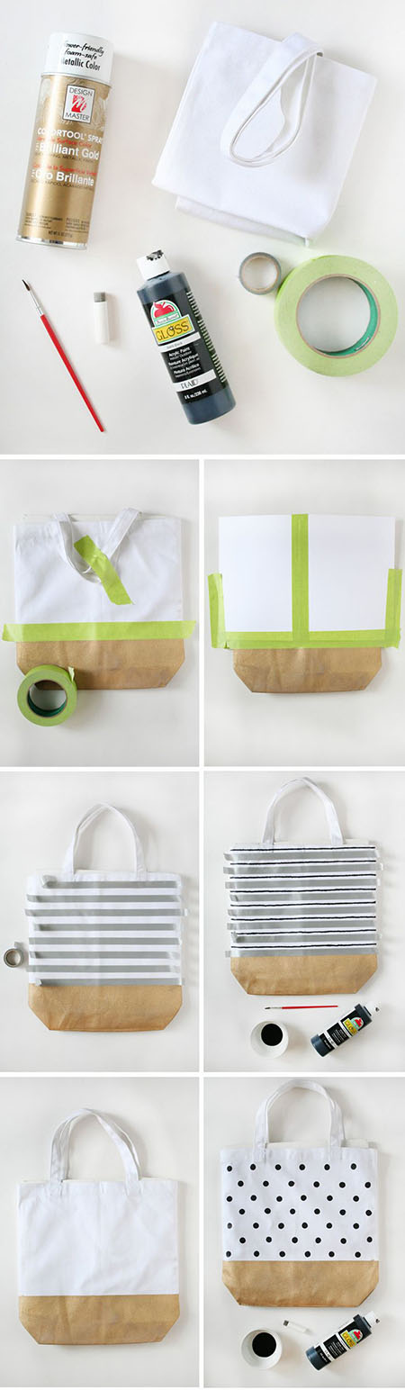 9 DIY Painted Totes 6ce1e47