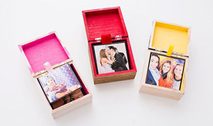 DIY Pop-up Photo Box