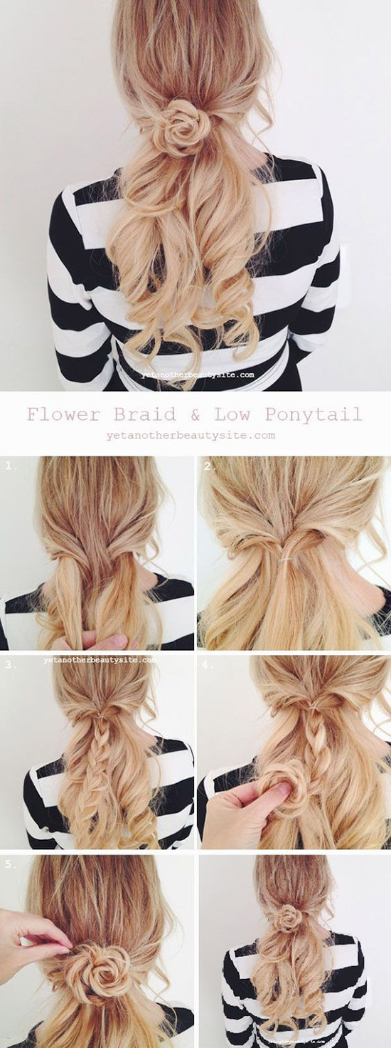 2 Braided Flower Hairstyle 27ac67530f9