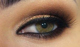Gold and Brown Makeup Tutorial
