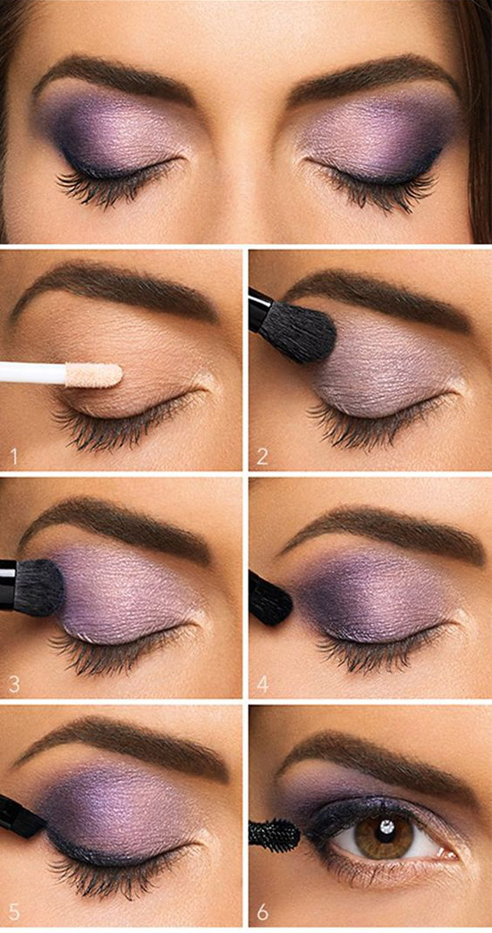 3 Lovely Purple Eyeshadow Tutorial 32adfefda0