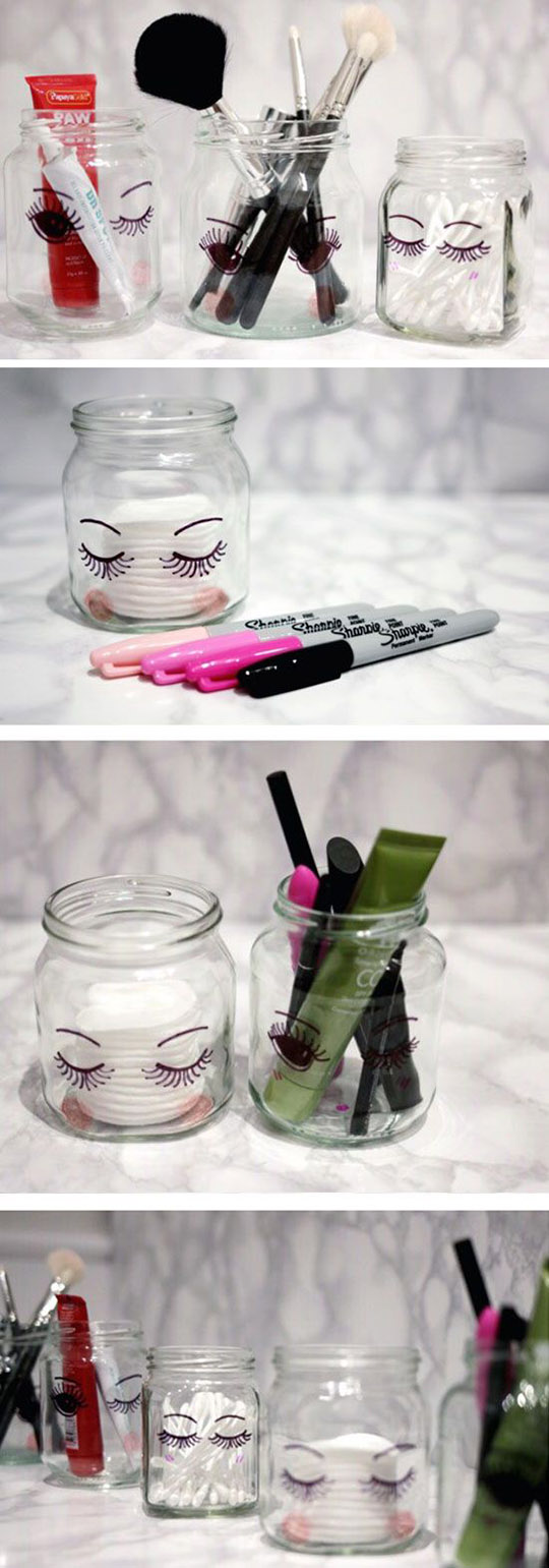 4 DIY Makeup Storage 6e11cd8fbb