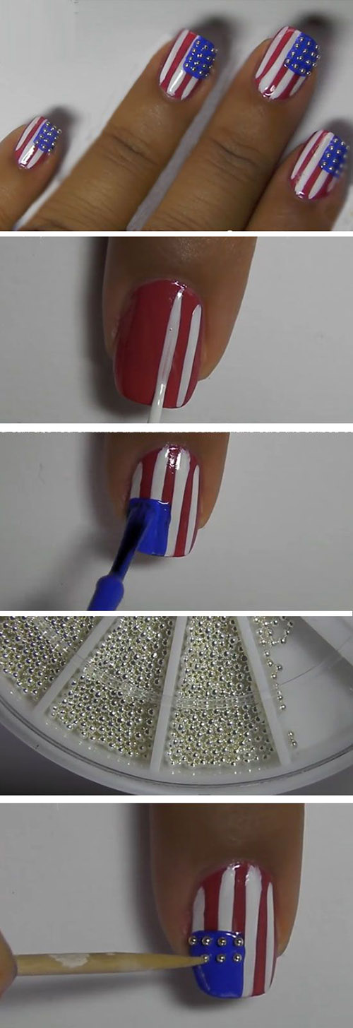 4  July Nail Art Design ecff8b48a7c16f7ee