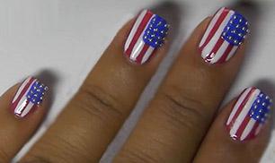 July Nail Art Design